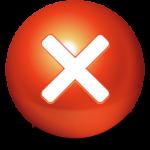 Niedliche Ball Stop Icon