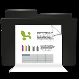 Ordner Dokumenten Excel Icon - ico,png,icns Gratis Download