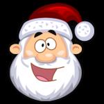 Glückliches SantaClaus Icon