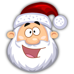 Happy SantaClaus icon