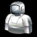 Roboter-Icon