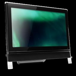 16 Computer Dark Green icon
