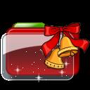 Christmas Folder Bells Stars icon