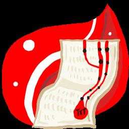 Folder Red doc icon