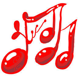 Music red icon
