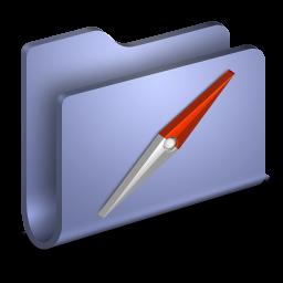 Sites Blue Folder icon