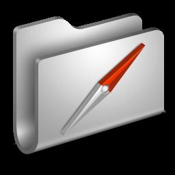 Sites Metal Folder icon