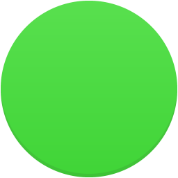 Trafficlight green icon