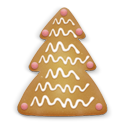 christmas cookie tree 2 icon