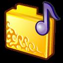 folder musics icon
