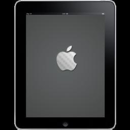 iPad Front Apple Logo icon
