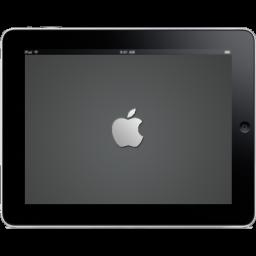iPad Landscape Apple Logo icon