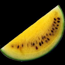 yellow watermelon icon