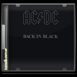 ACDC Backinblack icon