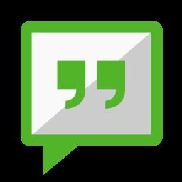 Communication messenger icon