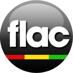 FLAC black icon