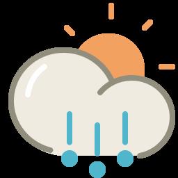 Hail day icon