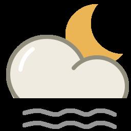 Lightfog night icon