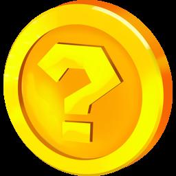 Frage Münze Symbol Icopngicns Gratis Download
