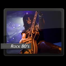 Rock 80s icon