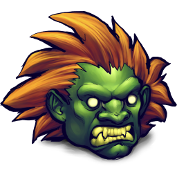 Street Fighter Blanka icon
