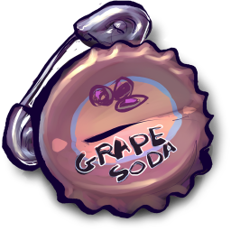 Things Grape Soda Safety Pin icon
