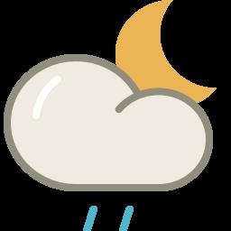 drizzle night icon