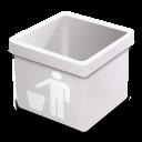 milk trash empty icon