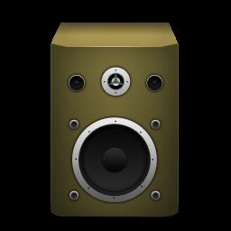 speaker orange icon