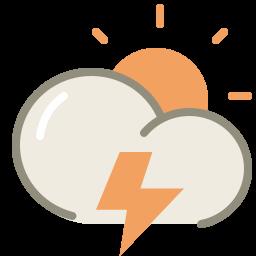 thunder day icon