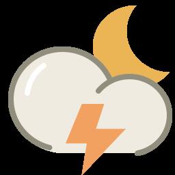 thunder night icon