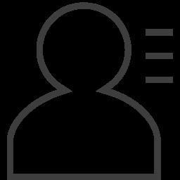 user info 2 icon