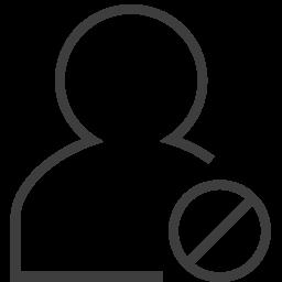 user invalid icon