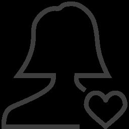 user woman fav icon