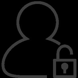 user2 unlocked icon