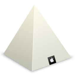 Apple Store Louvre Pyramid icon