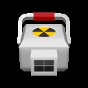 medical radioactive icon
