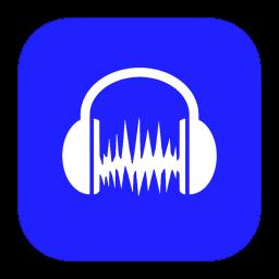 MetroUI Apps Audacity icon