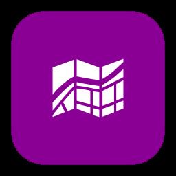 MetroUI Apps Windows8 Maps icon