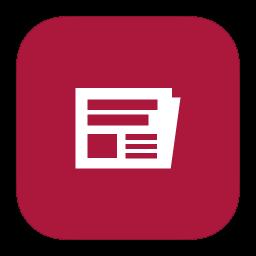 MetroUI Apps Windows8 News icon