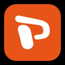 MetroUI Office Powerpoint icon