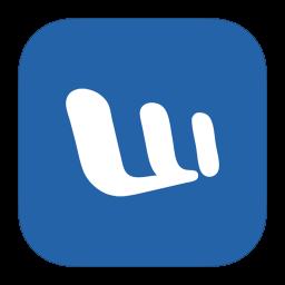 MetroUI Office Word icon