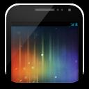 Phone galaxynexus on white icon