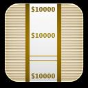 money wrap icon