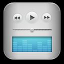 music itunes blue icon