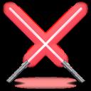 Darth Mauls light sabers icon