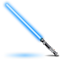 Obi Wans light saber icon