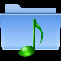 Orte Ordner Sound Symbol Ico Png Icns Gratis Download
