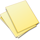 documents yellow icon