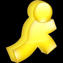 AIM yellow icon